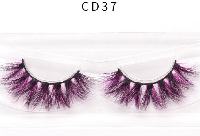 Get Colored Mink Eyelashes Pictures